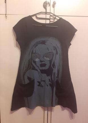 Платье футболка girls wear