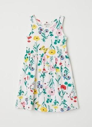 Платье сарафан для девочки 2/4г h&m , сарафан плаття на літо для дівчинки h&m 2/4р