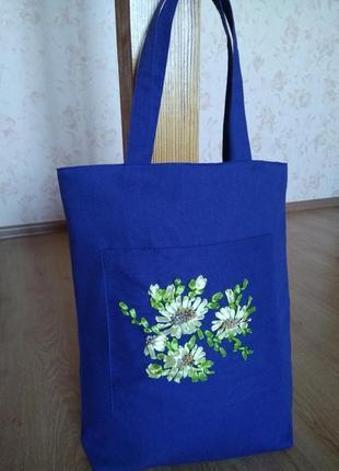 """Чудесная большая эко-сумка шоппер """"моя україна"""""""