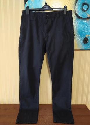 Черные брюки черные джинсы зауженные брюки котоновые