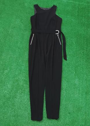 Шикарный комбинезон большого размера с карманами батал. комбез, костюм ромпер