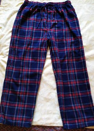 Мужские пижамные штаны брюки большого размера  debenhams