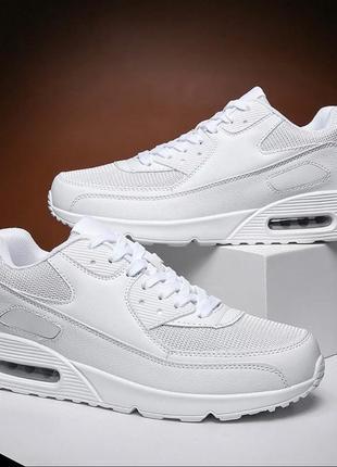 Кроссовки белые купить женские air max унисекс недорого со скидкой