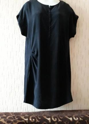 Шелковое платье ,туника colline