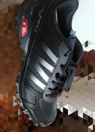 Кроссовки на ребристой подошве, размер 41.