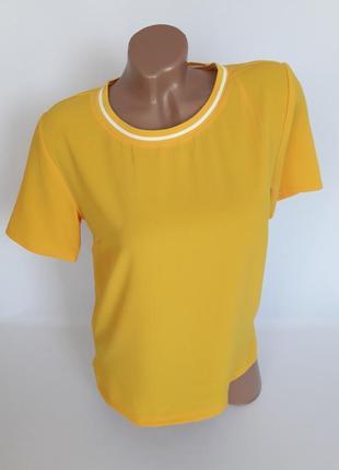 Шикарная базовая блуза в спортивном стиле
