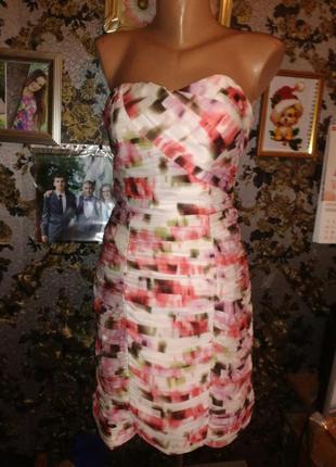 Шикарное вечерне платье h&m