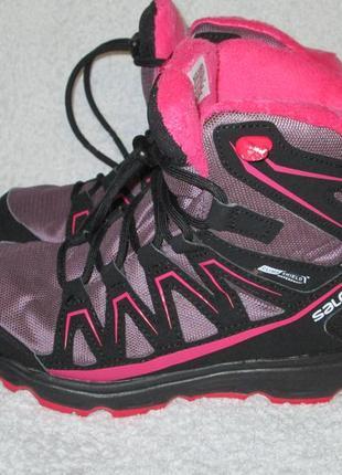 Зимние ботинки salomon 33 р.