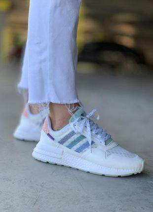 Мужские кроссовки adidas zx 500 rm commonwealth white
