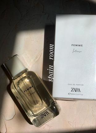 Духи zara femme intense/парфюм/парфуми/туалетна вода /духи зара