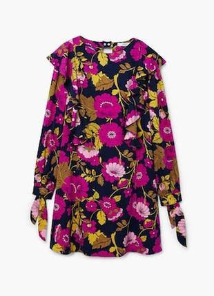 Цветочное платье из новой коллекции mango