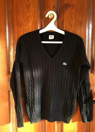 Пуловер кофта свитер lacoste тренд