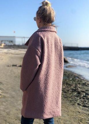Пальто барашек3 фото