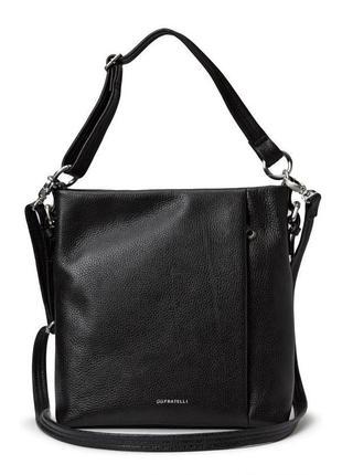 Дизайнерская кожаная сумка gigi fratelli