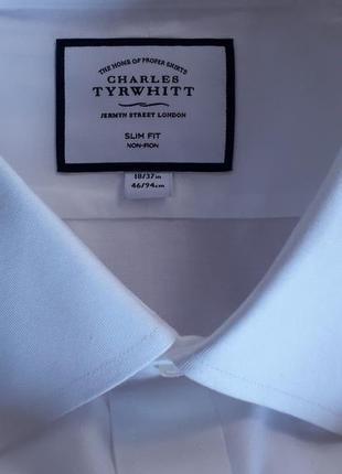 Белоснежная  рубашка. 56-58р. 100%хлопок. англия.