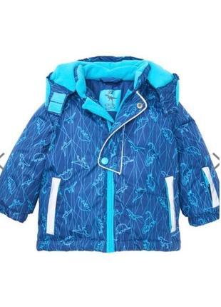 Зимняя лыжная куртка термо kiki&koko. р. 98-104 пр-во германия.