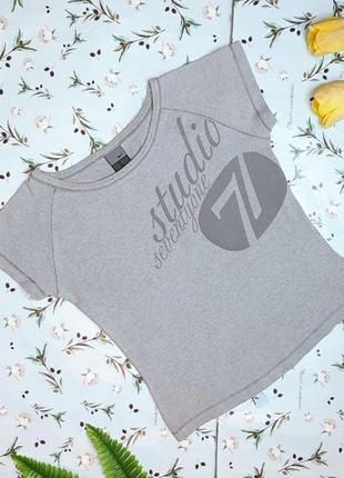 🎁1+1=3 женская серая футболка nike оригинал, размер 44 - 46