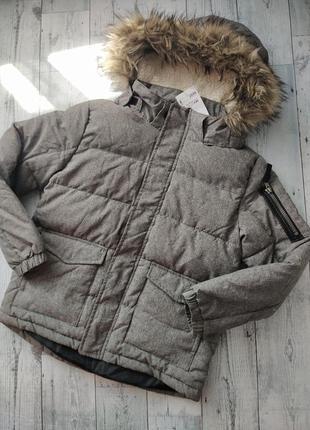 Новая куртка парка для мальчика