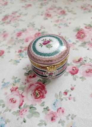 Антикварная шкатулка италия