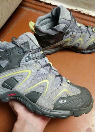 Ботинки salomon ( gore-tex ) 39 merrell