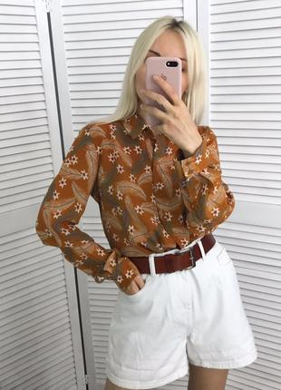 Ефектна сорочка  100% шовк! шелковая рубашка