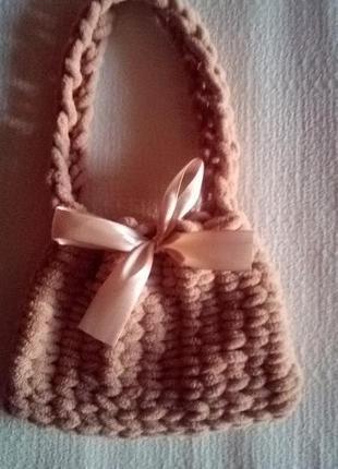 Плюшевая сумка