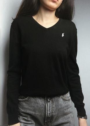 Черный пуловер оригинал