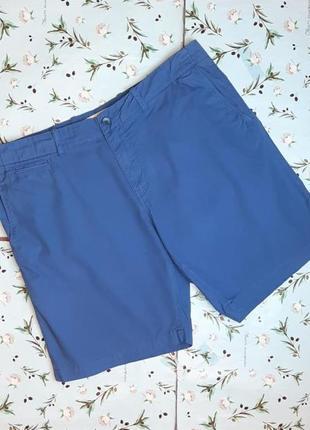 🎁1+1=3 брендовые мужские синие шорты чинос lacoste, размер 50 - 52