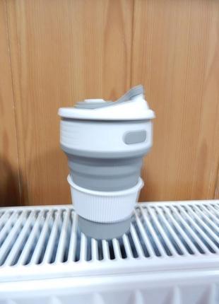 Чашка стакан силикон складной