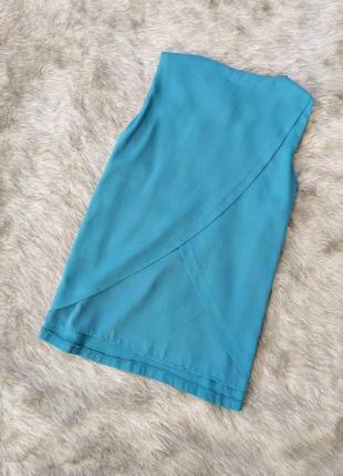 Блуза топ кофточка с драпированной спинкой
