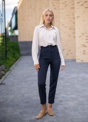Укорочені темні штани (у 2-х кольорах)
