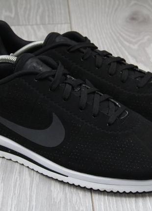 Кроссовки nike cortez ultra чёрные оригинал размер 45