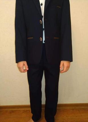 Шкільна форма, шкільний костюм, комплект піджак і брюки