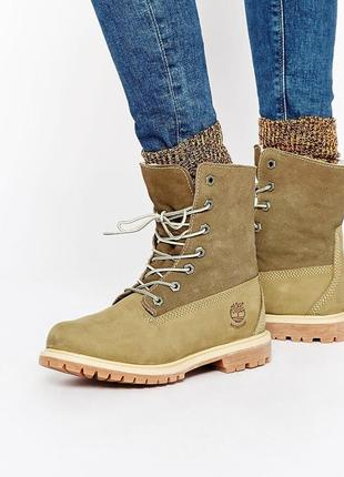 Ботинки зимние timberland waterproof. оригинал. натуральная кожа