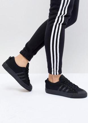 Кеды  adidas nizza black riginals art bz 0495(37 р)унисекс