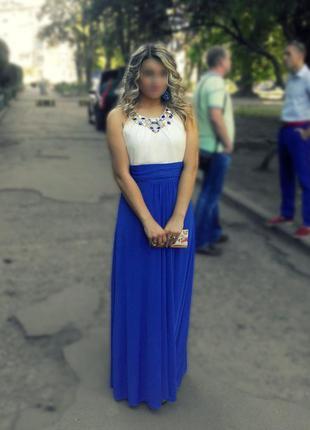 Шикарное платье на выпускной вечеринку или свадьбу
