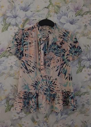 Красивая блуза papaya в нежный принт !