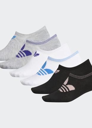 Носки adidas trefoil superlite no-show женские наложенный платёж купить 6 пар