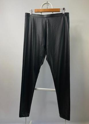 Кожаные лосины штаны леггинсы primark zara bershka h&m