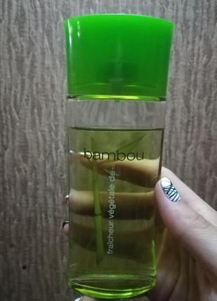 Одеколон кельнская вода бамбук от ив роше bambou yves rocher
