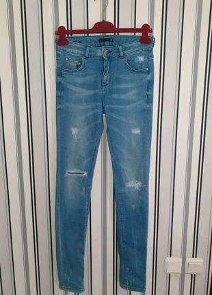 🌹очень классные джинсы slim.цвет реальный!в идеале!