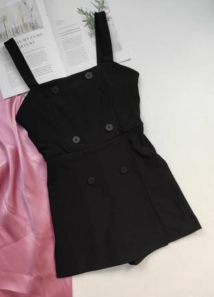 Трендова сукня -ромпер bershka з гудзиками спереду  ❤