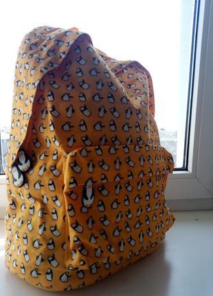 Стильный объемный рюкзак