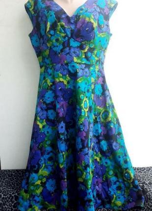 Красивое платье стрейч котон