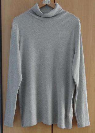 Супер брендовый свитер гольф водолазка лонгслив кофта хлопок