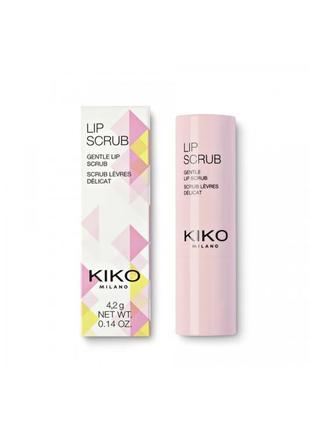 Скраб для губ kiko milano