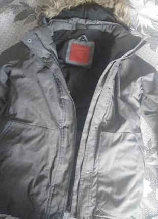 Новая куртка iguana серая
