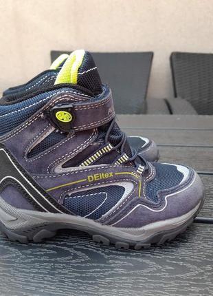 Немецкие термо ботинки deltex р-р27(17см)германия