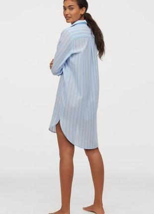 Хлопковая ночная рубашка