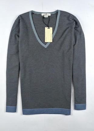 Шерсияной свитер john smedley англия